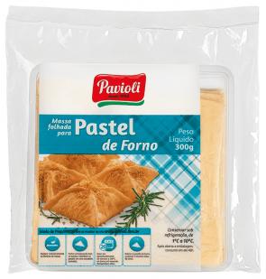 Massa para Pastel de Forno Folhado Pavioli 300g