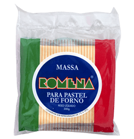 Massa para Pastel de Forno Romena 300g
