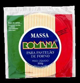 Massa para Pastelão de Forno Romena 300g