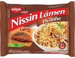 Massa Lámem Nissin Sabor Picanha 85g