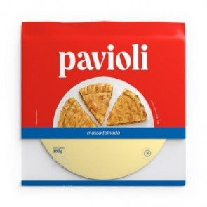 Massa Pastelão Pavioli 300g