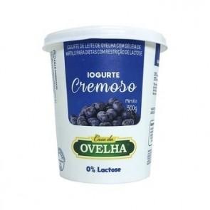 Iogurte Cremoso Mirtilo Casa da Ovelha 0% Lactose 500g