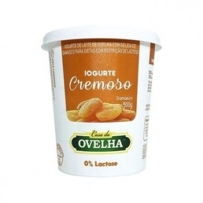 Iogurte Damasco Casa da Ovelha 0% Lactose 500g
