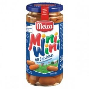 Mini Salsichas Defumadas Mini-Wini Meica 260g