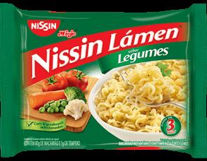Macarrão Nissin Sabor Legumes 85g