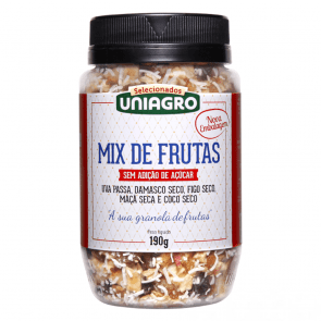 Mix de Frutas Secas Uniagro 190g