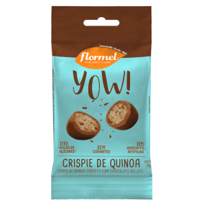 Yow! Crispie de Quinoa c/ Chocolate Zero Flormel 35g