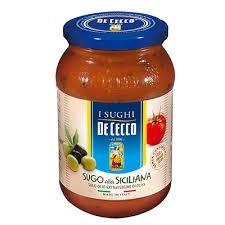 Molho Italiano Sugo alla Siciliana De Cecco 400g
