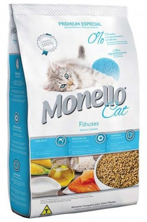 Alimento p/ Gatos Filhote Monello 1kg