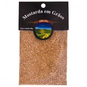 Mostarda em Grãos Terra Rica 60g