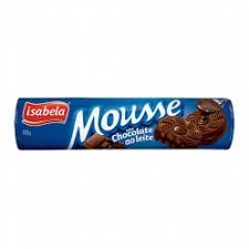 Biscoito Recheado Chocolate ao Leite Mousse Isabela 150g