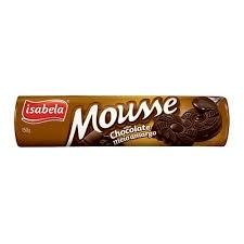 Biscoito Recheado Chocolate Amargo Mousse Isabela 150g