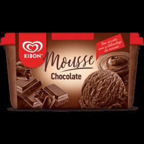 Sorvete Mousse Chocolate Kibon 1,5L