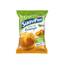 Muffin Laranja Orgânico Suavipan 40g