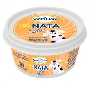Nata Light Santa Clara 200g