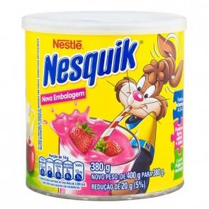 Achocolatado Pó Nesquick Morango 380g