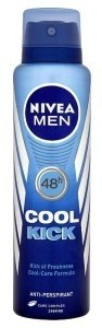 Desodorante Masculino Aerosol Cool Kick Nivea 150ml