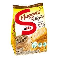 Nuggets Frango Multigãos Sadia 275g