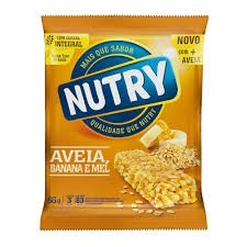 Barra de Cereal Nutry Ban/Av/Mel c/3 22g