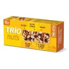 Cereal em Barra Original Nuts Trio 60g