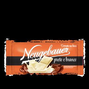 Chocolate em Barra Preto e Branco Neugebauer 100g