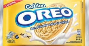 Biscoito Oreo Golden Recheado Baunilha 144g