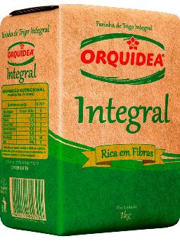 Farinha Orquídea Trigo Integral 1kg