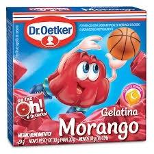 Pó para Gelatina Dr Oetker Sabor Morango 20g
