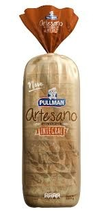 Pão Artesano Integral Pullman 500g