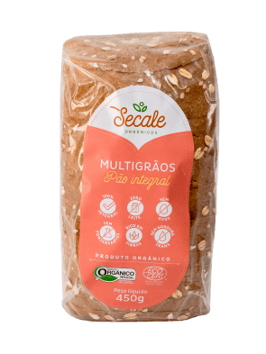 Pão integral Orgânico Multigrãos Secale 450g