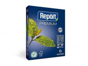 Papel Carta Report 75g - 500 folhas