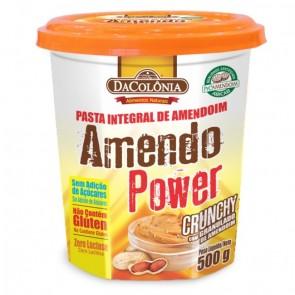 Pasta de Amendoim Crunchy Amendo Power DaColonia 500g