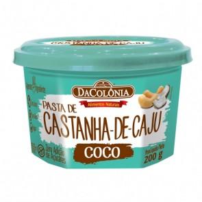 Pasta Castanha de Caju Coco DaColônia 200g