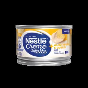 Creme de Leite Nestle Patê Alho Negro e Queijo 160g