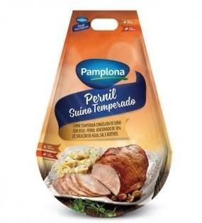 Pernil Suino Temperado Congelado Pamplona (aproximadamente 2kg)