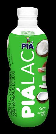 Bebida Lactea Pia Lac Coco 900g
