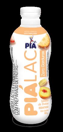 Bebida Lactea Pia Lac Zero Gorduras Salada de Frutas 900g
