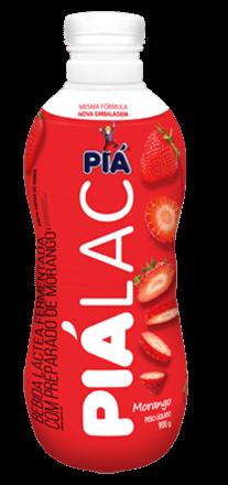 Bebida Lactea Pia Lac Morango 900g