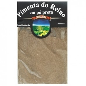 Pimenta do Reino Preta em Pó Terra Rica 40g
