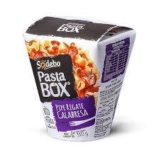 Pipe Regate Calabresa Pasta Box Sodebo 310g