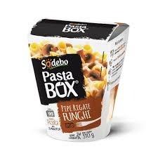 Pipe Regate Funchi Pasta Box Sodebo 310g