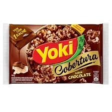 Pipoca de Microondas Yoki Cobertura Chocolate 160g