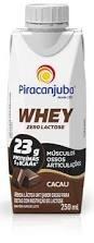 Bebida Láctea Whey Cacau Z/Lactose Piracanjuba 250ml