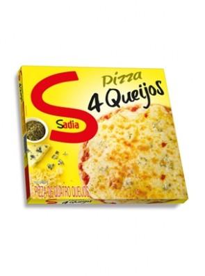 Pizza Quatro Queijos Sadia 450g