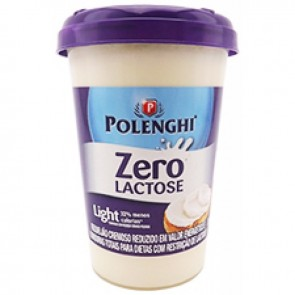 Requeijão Polenghi Light Zero Lactose 200g