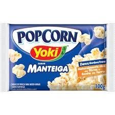 Pipoca de Microondas Manteiga Yoki 100g