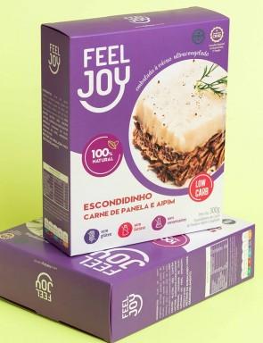 Escondidinho Carne de Panela/Aipim Low S/Glúten S/Lactose Feel Joy 300g