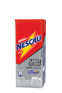 Bebida Láctea Nescau Light 200ml