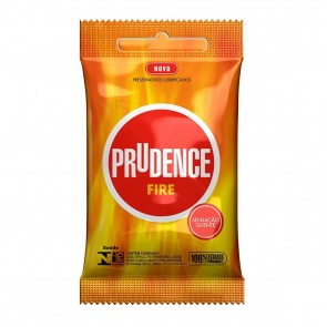 Preservativo Prudence Fire C/ 3