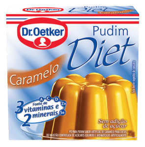 Pudim Diet Caramelo Dr. Oetker 25g